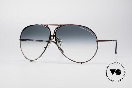 Porsche 5621 XL 80's Aviator Sunglasses Details