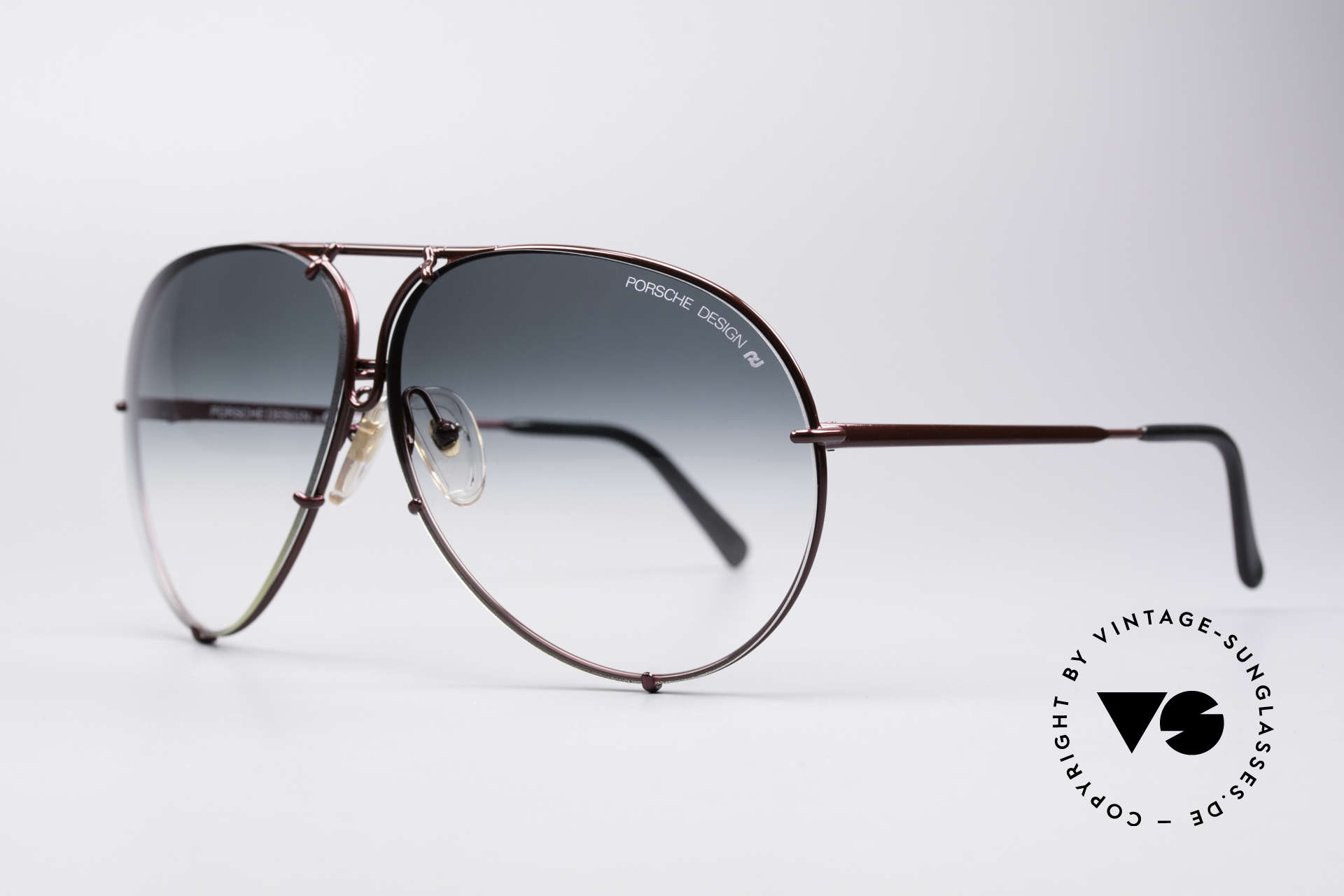 Porsche 5621 XL 80's Aviator Sunglasses, the legend with interchangeable lenses; true vintage, Made for Men and Women
