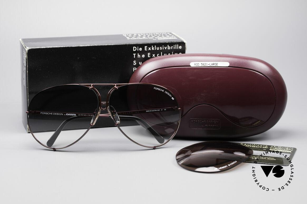 Porsche 5621 XL 80's Aviator Sunglasses, NO RETRO SUNGLASSES, but a 30 years old original, Made for Men and Women