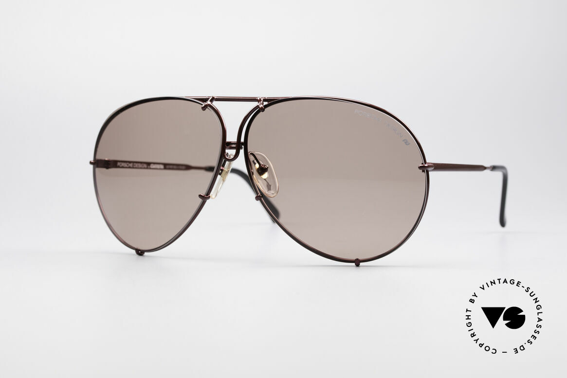 Porsche 5621 XL 80's Aviator Sunglasses, model 5623 = 80's SMALL size (MEDIUM size, today), Made for Men and Women