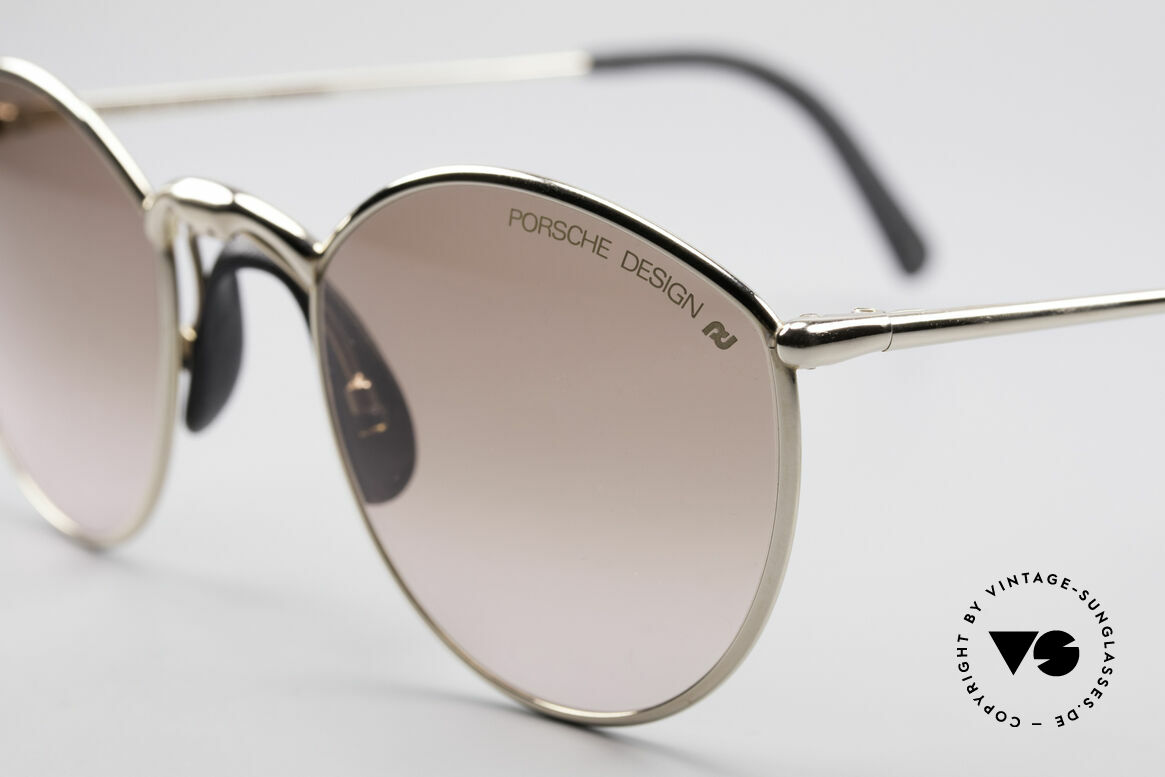 Porsche 5638 True 90's Vintage Glasses, top quality with brown PD lenses (100% UV protect.), Made for Men and Women