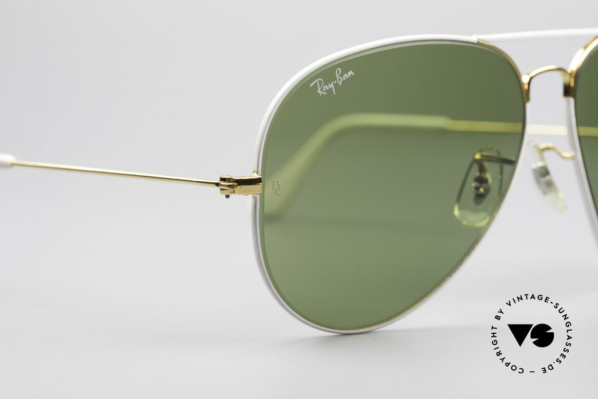 "Ray Ban Large Metal II Flying Colors Limited Edition, legendary RB3 mineral lenses with the ""B&L"" etching, Made for Men"