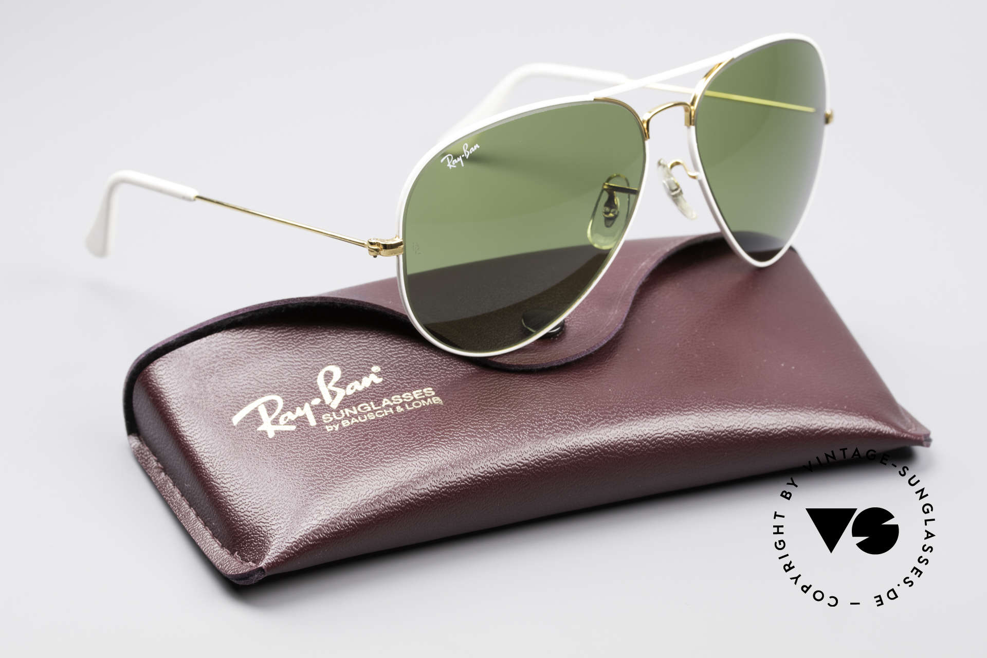 Ray Ban Large Metal II Flying Colors Limited Edition, collector's item in a brilliant quality (incl. orig. case), Made for Men