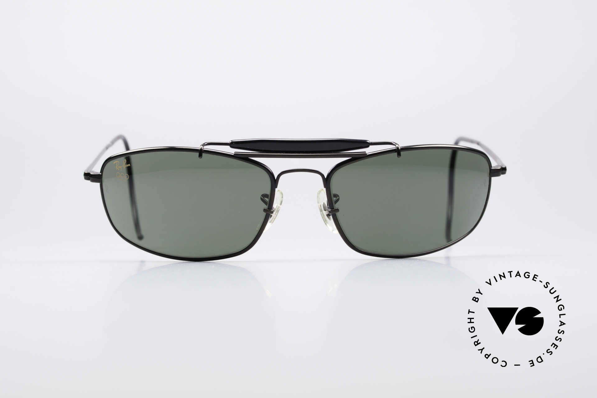 Ray Ban Sport Metal 1994 Olympic Series B&L USA, size 62°18 with legendary Bausch&Lomb mineral lenses, Made for Men