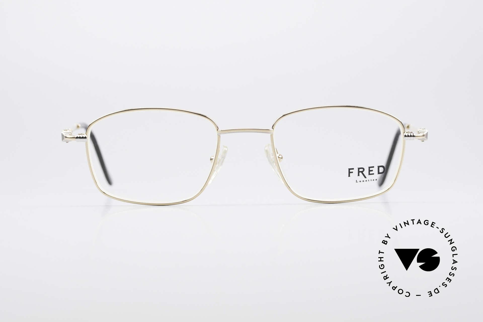64cba9de29 Glasses Fred Falkland 90's Luxury Eyeglasses | Vintage Sunglasses