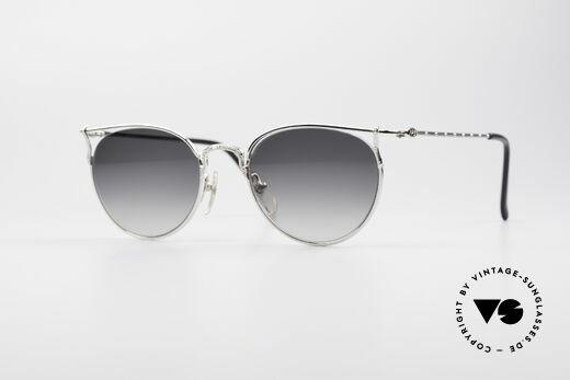 Jean Paul Gaultier 55-3177 Semi Rimless Vintage Frame Details