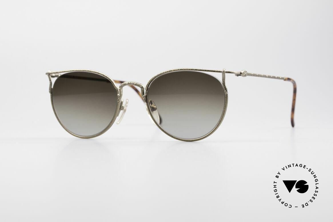 Jean Paul Gaultier 55-3177 Interesting Vintage Frame, noble Jean Paul Gaultier 90's designer glasses, Made for Men and Women
