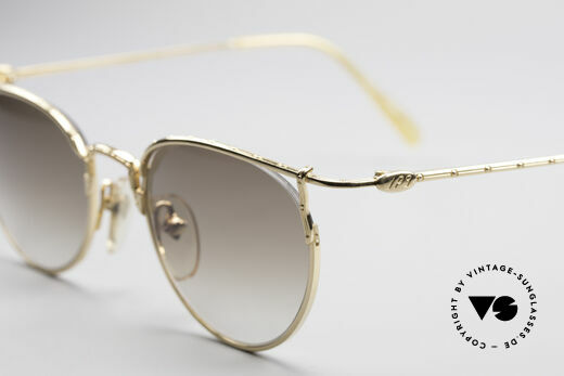 Jean Paul Gaultier 55-3177 Gold Palted Vintage Frame