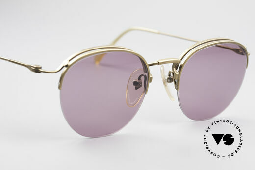 Jean Paul Gaultier 55-1172 Half Rimless Sunglasses