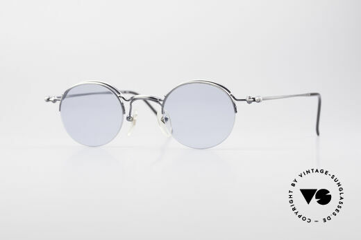 Jean Paul Gaultier 55-7108 Small Round Panto Glasses Details