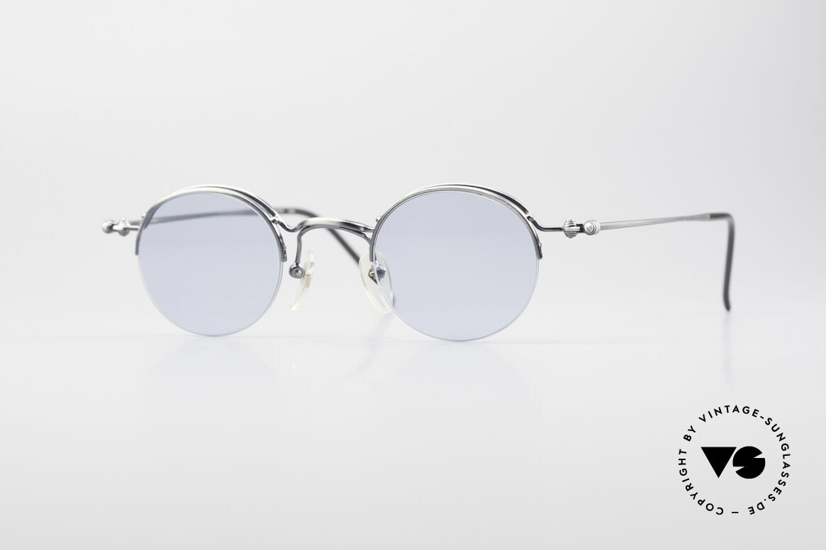 Jean Paul Gaultier 55-7108 Small Round Panto Glasses, timeless Jean Paul GAULTIER designer sunglasses, Made for Men and Women