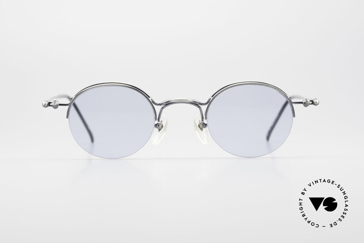 Jean Paul Gaultier 55-7108 Small Round Panto Glasses, legendary 'panto shape' interpreted by JP Gaultier, Made for Men and Women