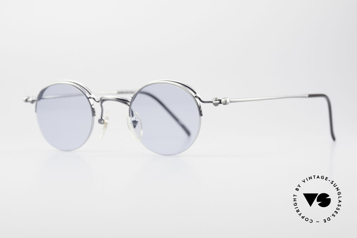 Jean Paul Gaultier 55-7108 Small Round Panto Glasses, lightweight and very comfortable (made in Japan), Made for Men and Women