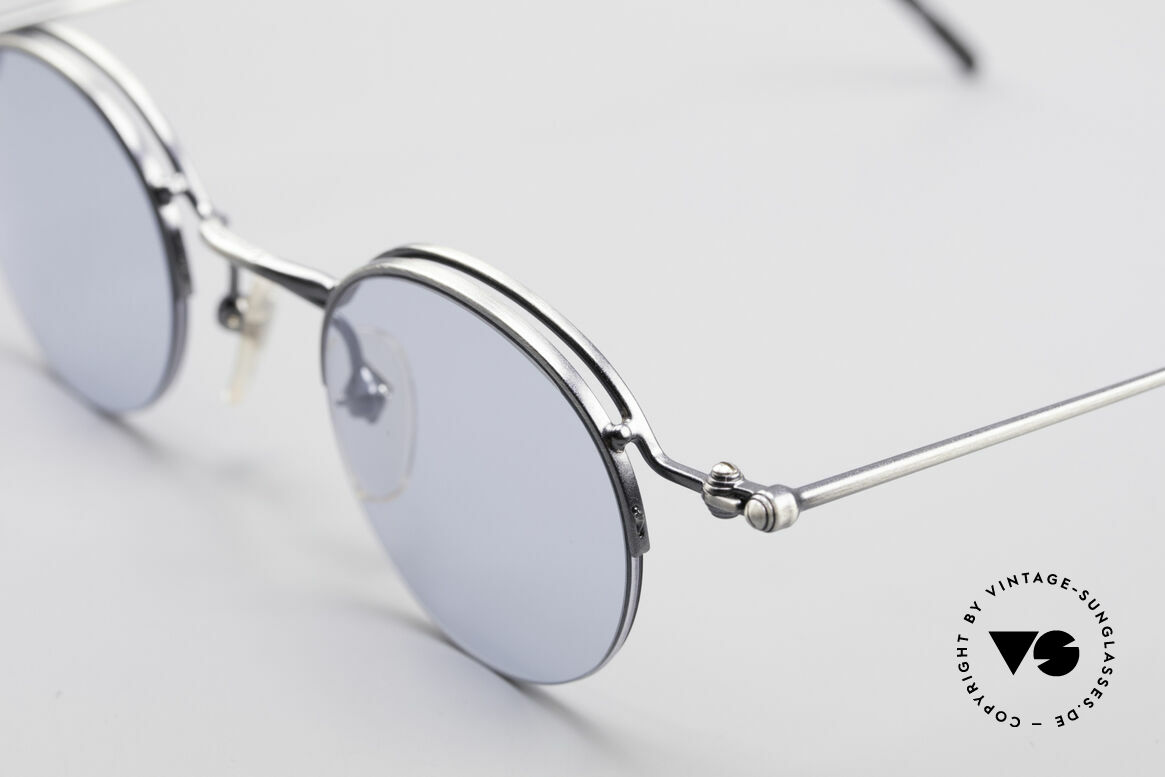 Jean Paul Gaultier 55-7108 Small Round Panto Glasses, NO retro fashion, but an authentic 90's ORIGINAL, Made for Men and Women
