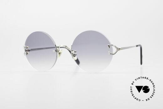 Cartier Madison Round Platinum Shades Details