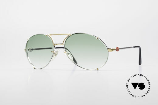 Bugatti 65360 Rare 80's Men's Sunglasses Details