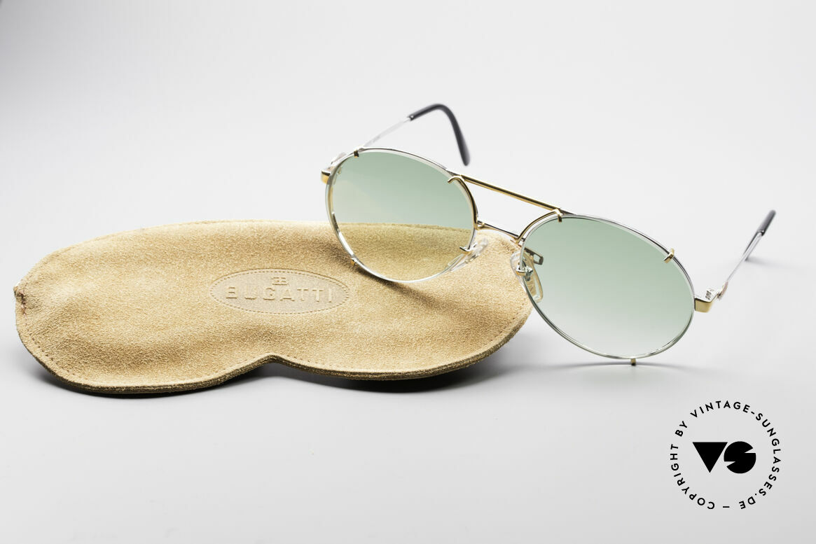 Bugatti 65360 Men's 80's Sunglasses