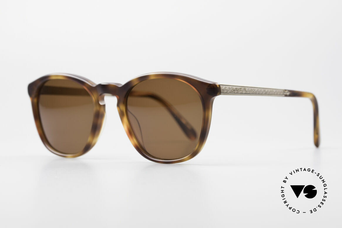 Matsuda 2816 High-End Vintage Sunglasses, both temples with costly engraving (You must feel this!), Made for Men