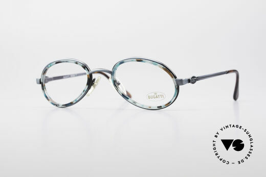 Bugatti 05728T 90's Men's Eyeglasses Details