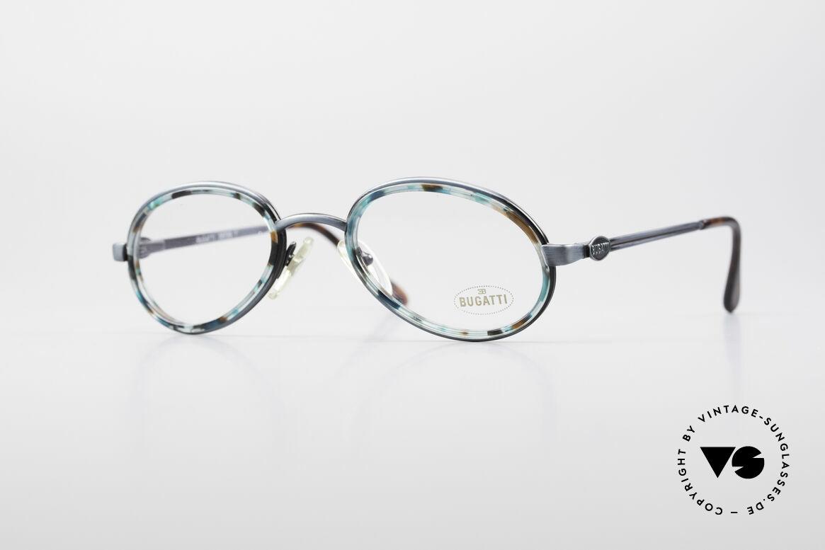 Bugatti 05728T 90's Men's Eyeglasses, remarkable BUGATTI vintage 90's designer eyeglasses, Made for Men