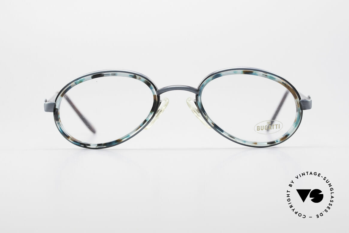 Bugatti 05728T 90's Men's Eyeglasses, unique frame coloring / pattern (check the pictures!), Made for Men