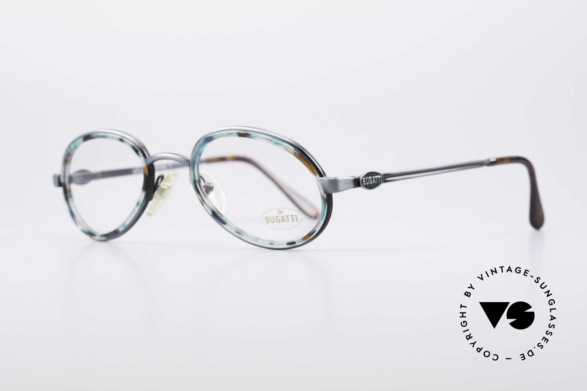 Bugatti 05728T 90's Men's Eyeglasses, top quality & 1. class wearing comfort (spring hinges), Made for Men