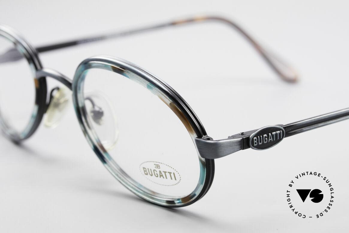 Bugatti 05728T 90's Men's Eyeglasses, unworn & with case (like all our rare vintage Bugattis), Made for Men