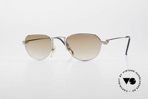 Bugatti EB605 Small Vintage Sunglasses Details