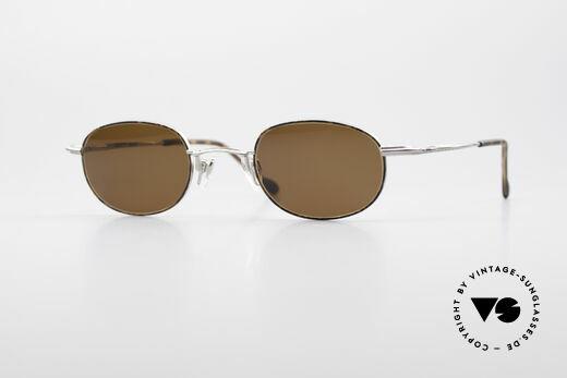 Bugatti 23547 90's Titanium Eyeglasses Details