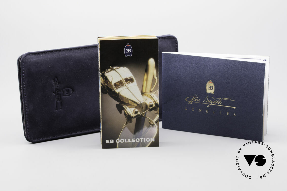 Bugatti 23547 90's Titanium Eyeglasses