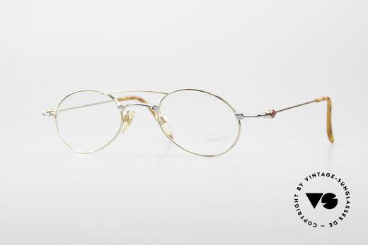 Bugatti 10868 Luxury Vintage Eyeglasses Details