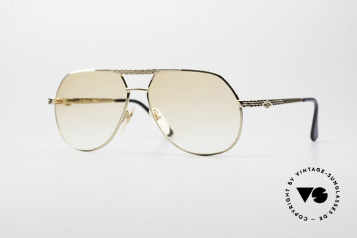 Bugatti EB502 - M Vintage Aviator Glasses Details