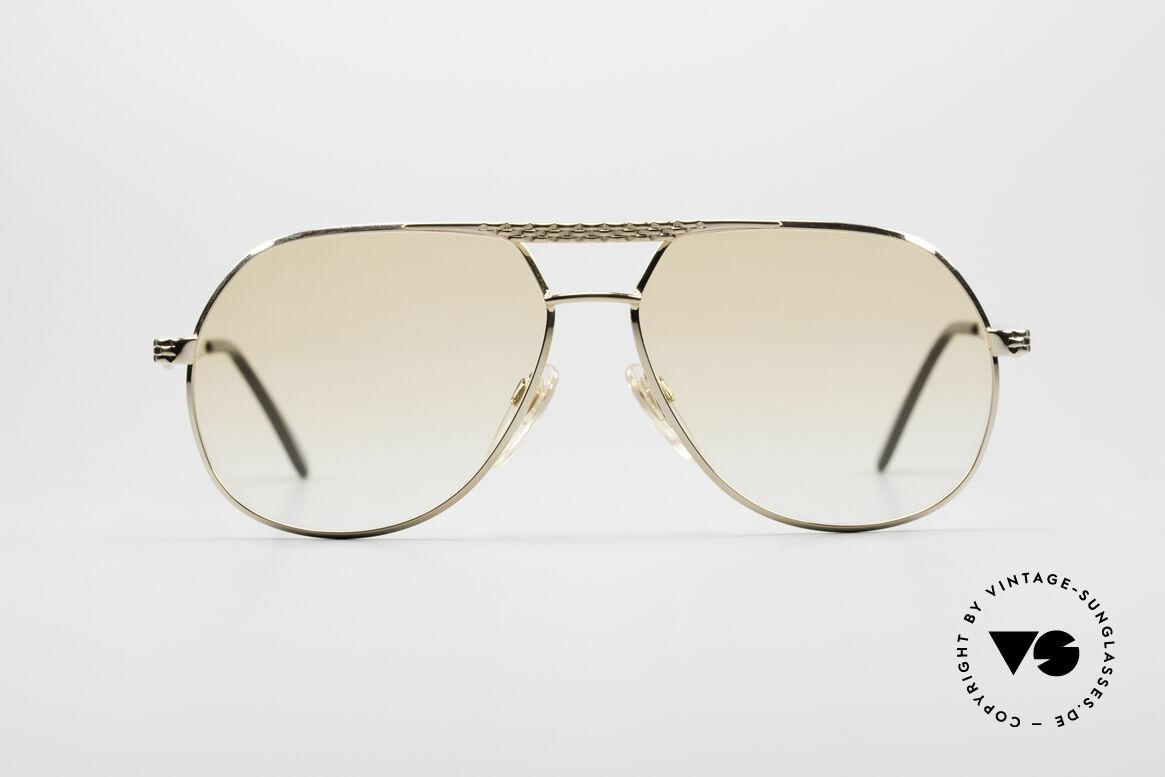 Bugatti EB502 - M Vintage Aviator Glasses