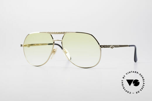 Bugatti EB502 - M Vintage Aviator Sunglasses Details