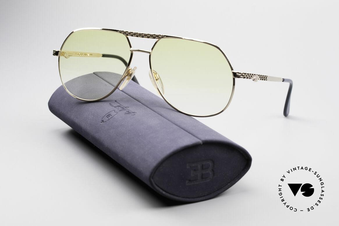 Bugatti EB502 - M Vintage Aviator Sunglasses
