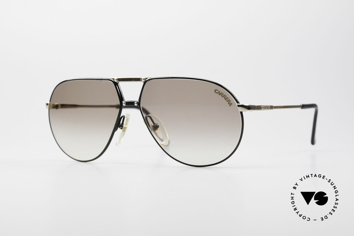 Carrera 5326 - S 80's Men's Sunglasses, vintage sunglasses by CARRERA with double bridge, Made for Men and Women