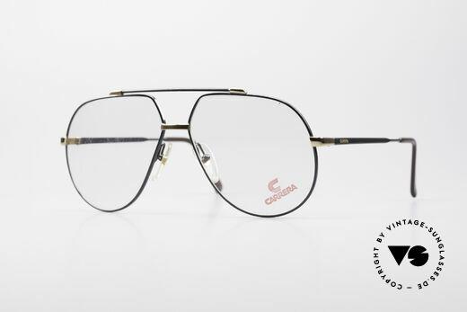 Carrera 5369 Large Vintage Eyeglasses Details