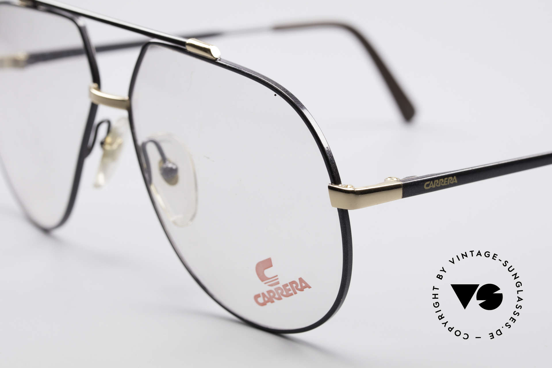 Carrera 5369 Large Vintage Eyeglasses, DEMO LENSES should be replaced with prescriptions, Made for Men