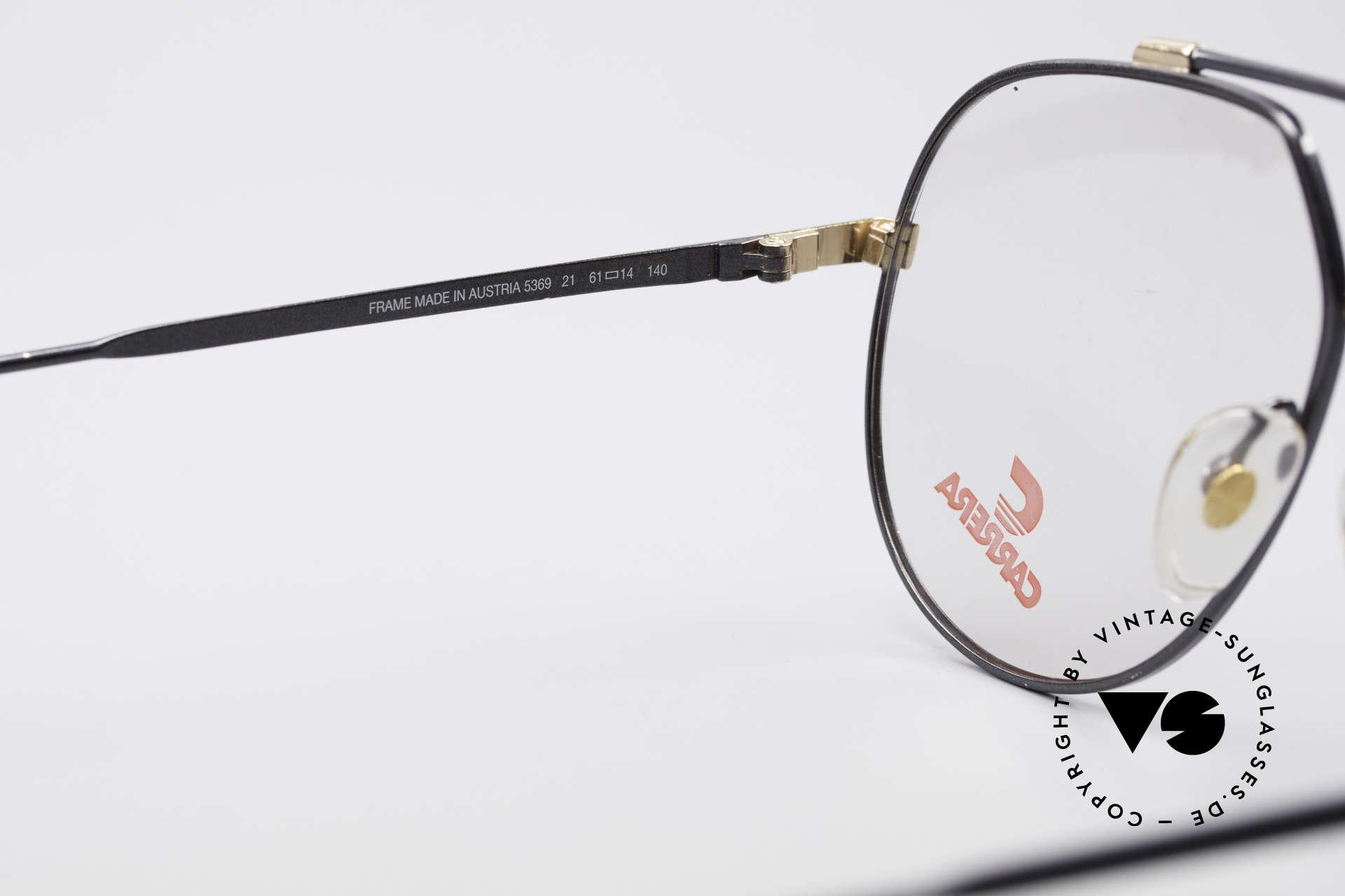 Carrera 5369 Large Vintage Eyeglasses, never worn (like all our rare vintage Carrera frames), Made for Men
