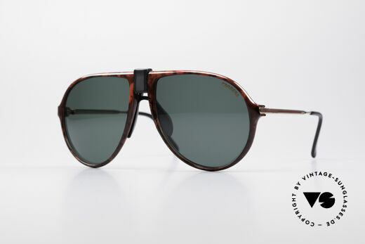 Carrera 5413 80's Aviator Sunglasses Details