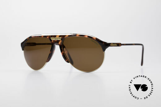 Carrera 5444 Wide Aviator Sunglasses Details
