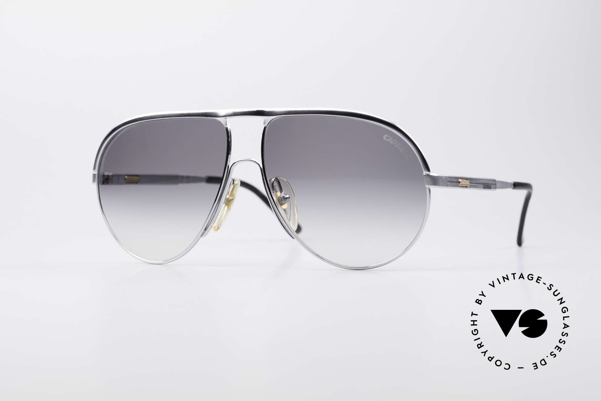 Carrera 5305 Adjustable Sunglasses, brilliant Carrera vintage sunglasses from the 80s/90s, Made for Men