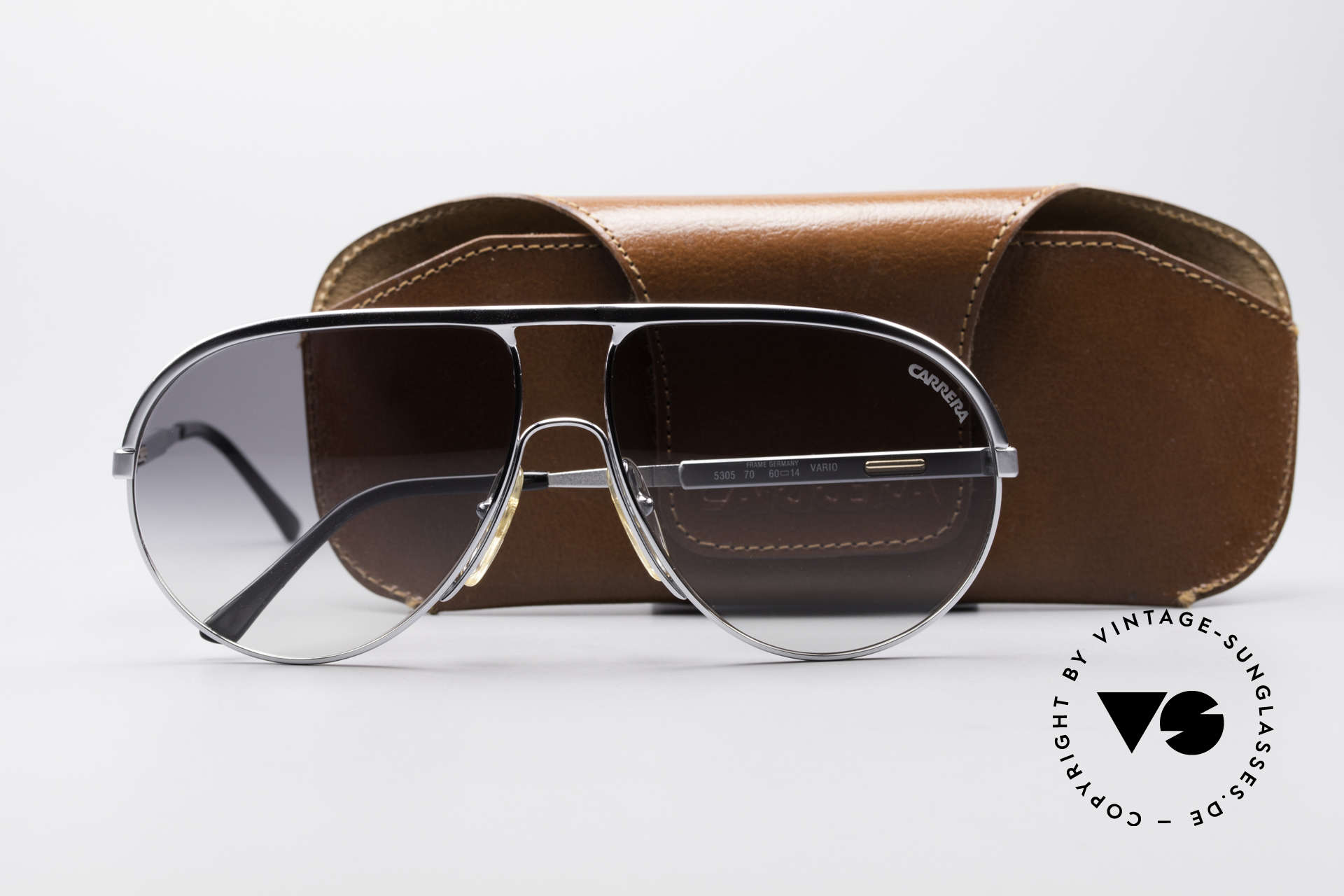 Carrera 5305 Adjustable Sunglasses, unworn, NOS (like all our vintage CARRERA sunglasses), Made for Men