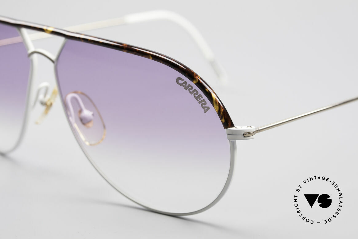 Carrera 5428 Rare Vintage 80's Shades, purple-gradient Carrera lenses (100% UV protection), Made for Men and Women