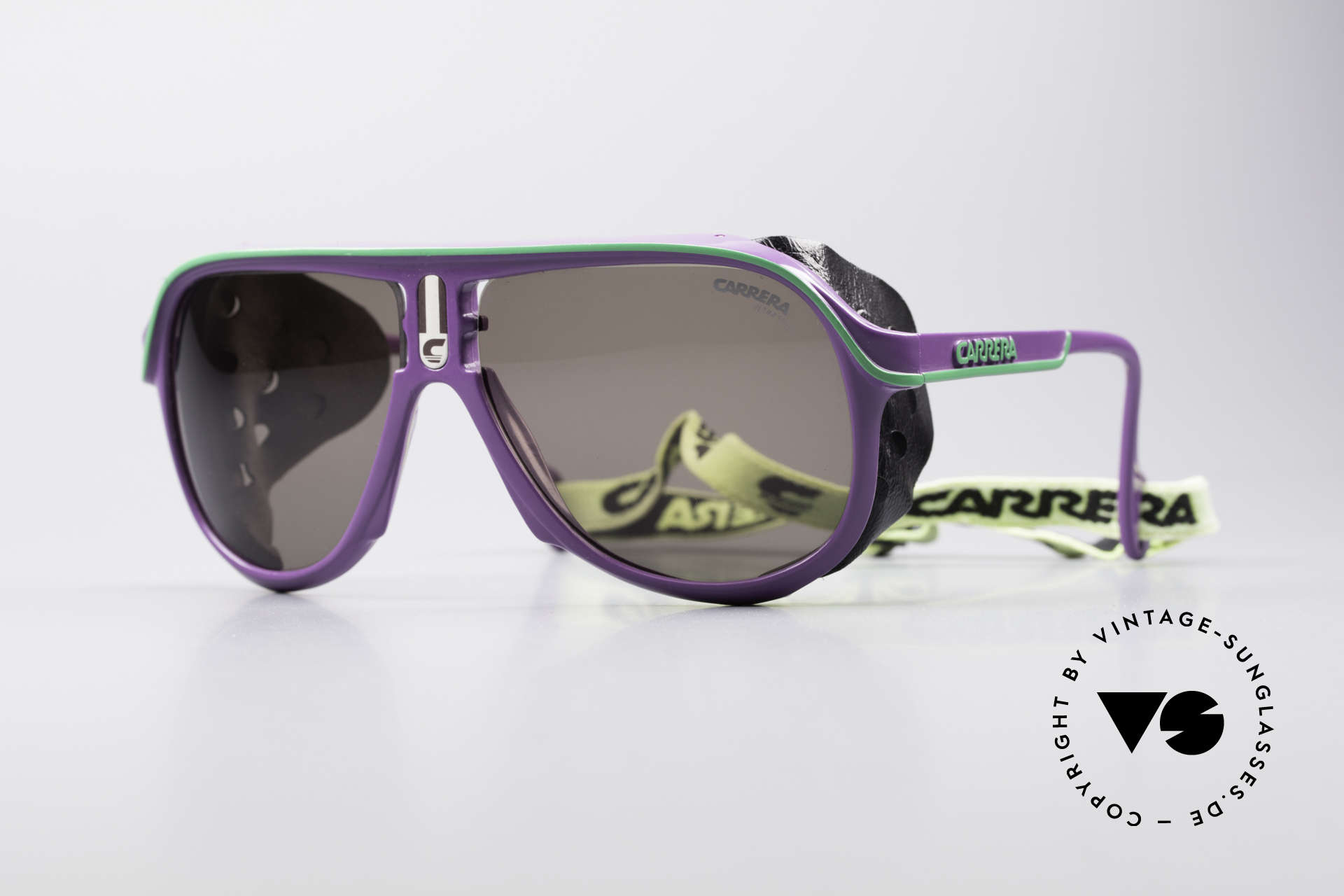 Carrera 5544 Sports Glacier Sunglasses, vintage Carrera sports and glacier sunglasses from 1990, Made for Men and Women