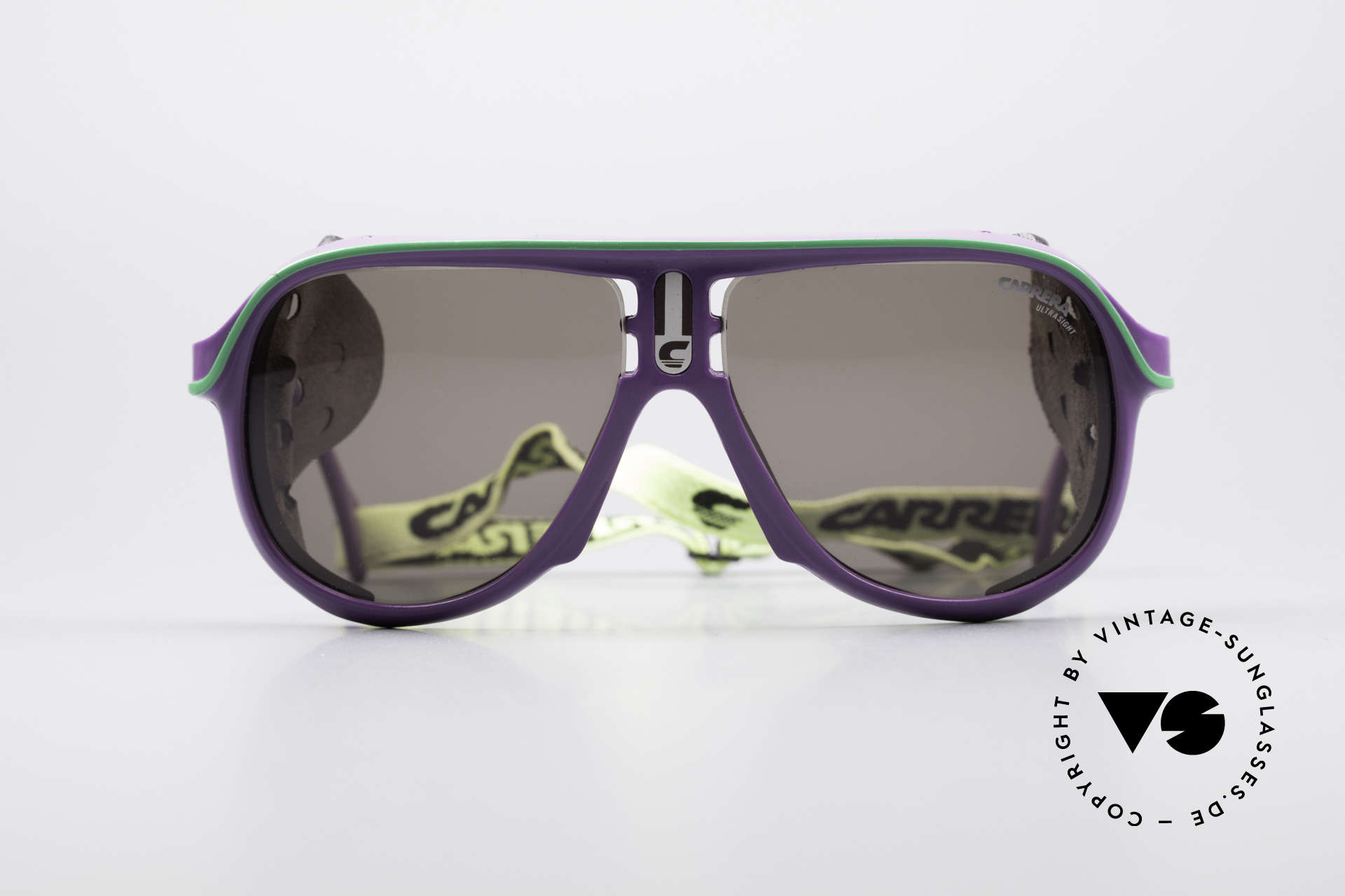 Carrera 5544 Sports Glacier Sunglasses, perfect fit and high wearing comfort (with elastic strap), Made for Men and Women