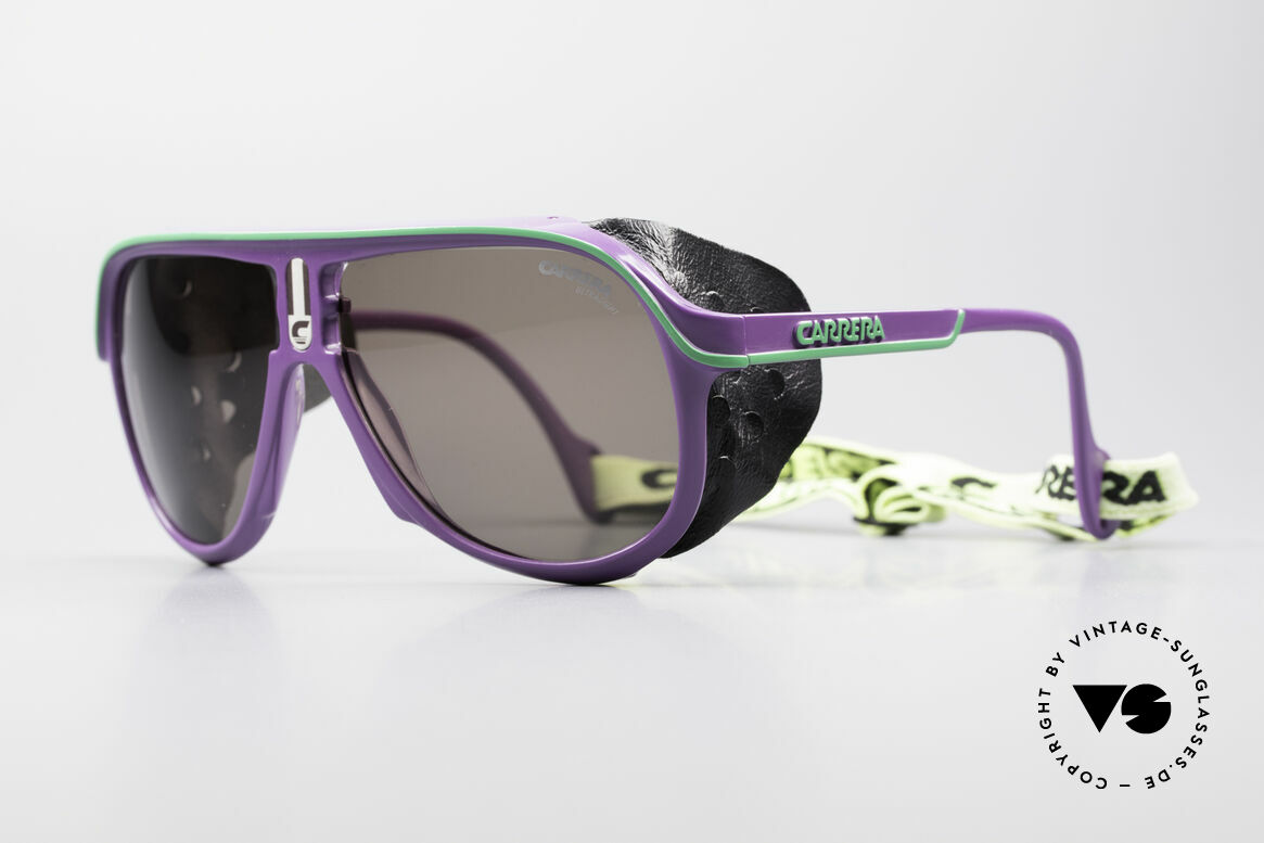 Carrera 5544 Sports Glacier Sunglasses, Carrera Ultrasight lenses for extreme weather-conditions, Made for Men and Women