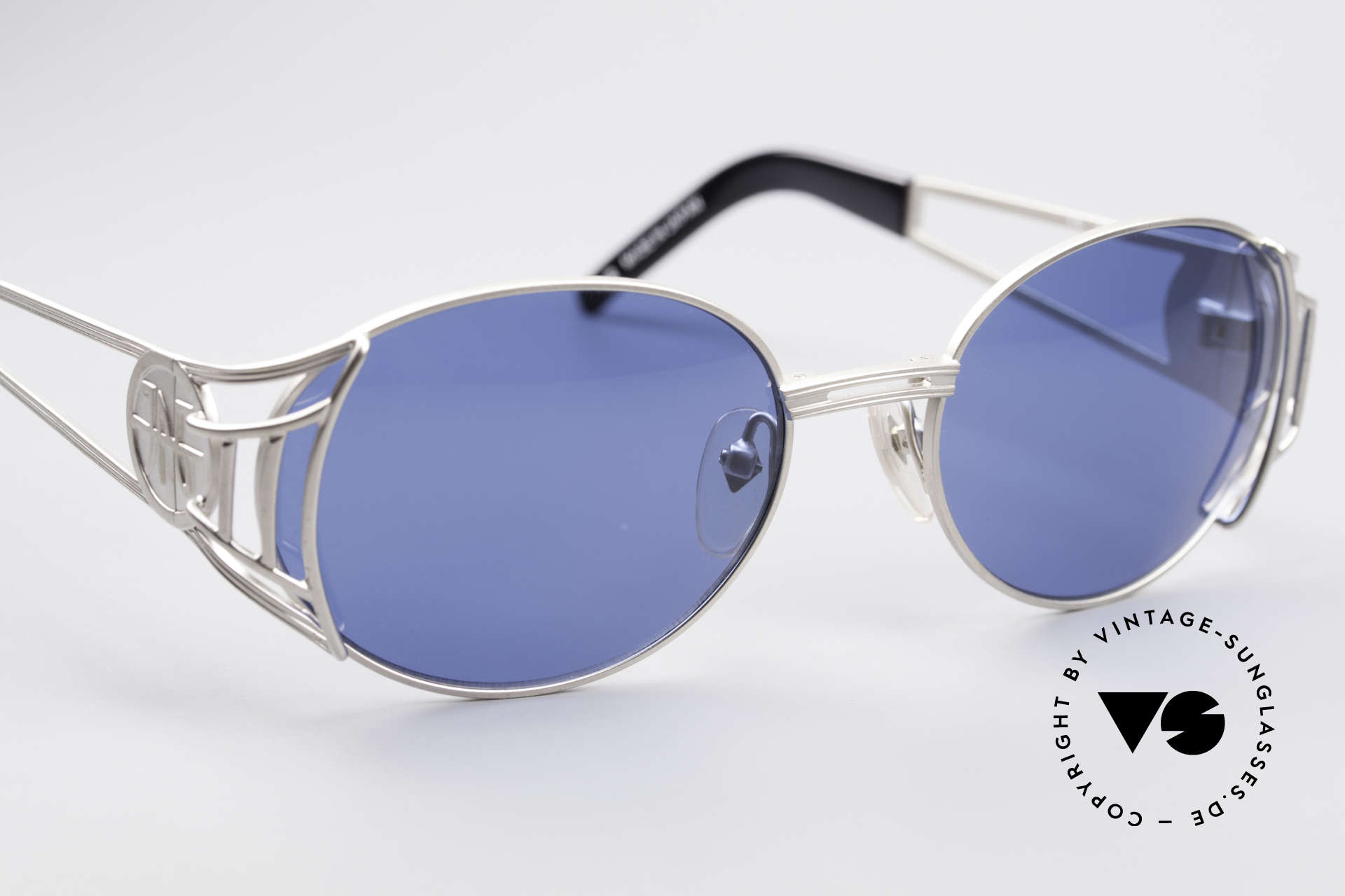 Jean Paul Gaultier 58-6102 Steampunk Sunglasses, NO RETRO sunglasses, but a 20 years old original, Made for Men and Women