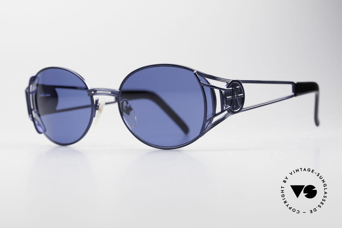 """Jean Paul Gaultier 58-6102 Vintage Steampunk Shades, often called as """"STEAMPUNK Shades"""", these days, Made for Men and Women"""