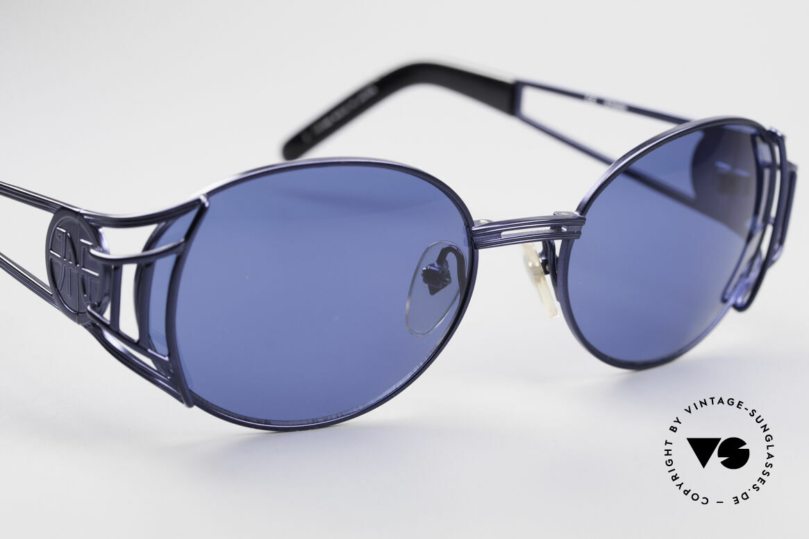 Jean Paul Gaultier 58-6102 Vintage Steampunk Shades, NO RETRO sunglasses, but a 20 years old original, Made for Men and Women